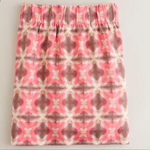 J Crew Tie Dye Wednesday Skirt